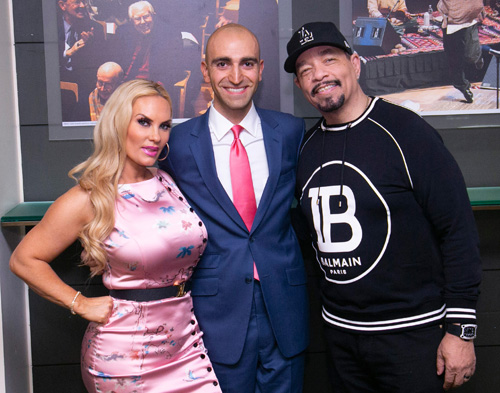 Coco Leon Brie and Ice T